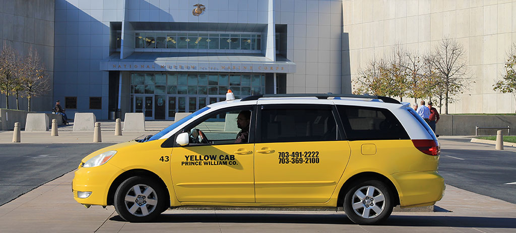 Yellow Cab services in Prince William County